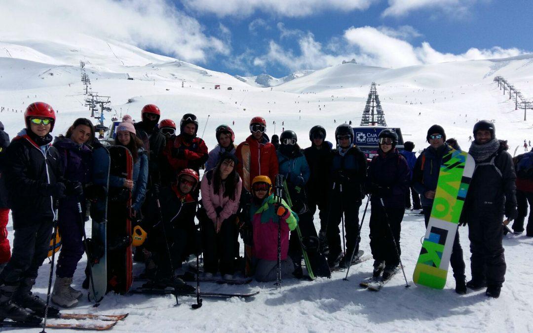 Esquí y Snowboard en Sierra Nevada. 2017/2018.