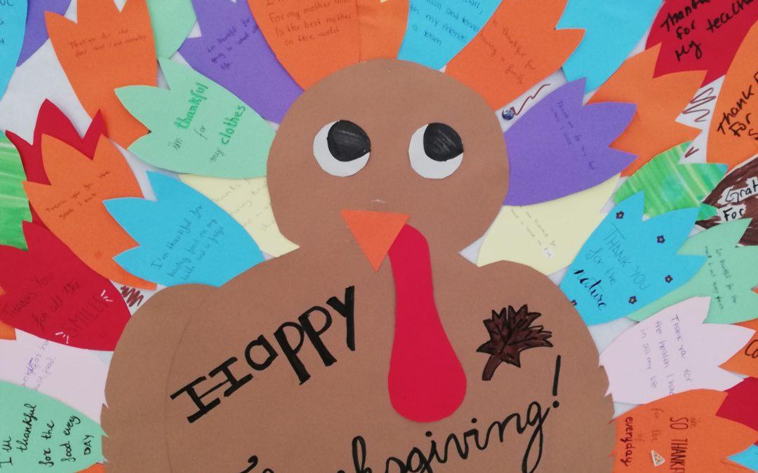 """Celebrando el """"Thanksgiving Day"""""""