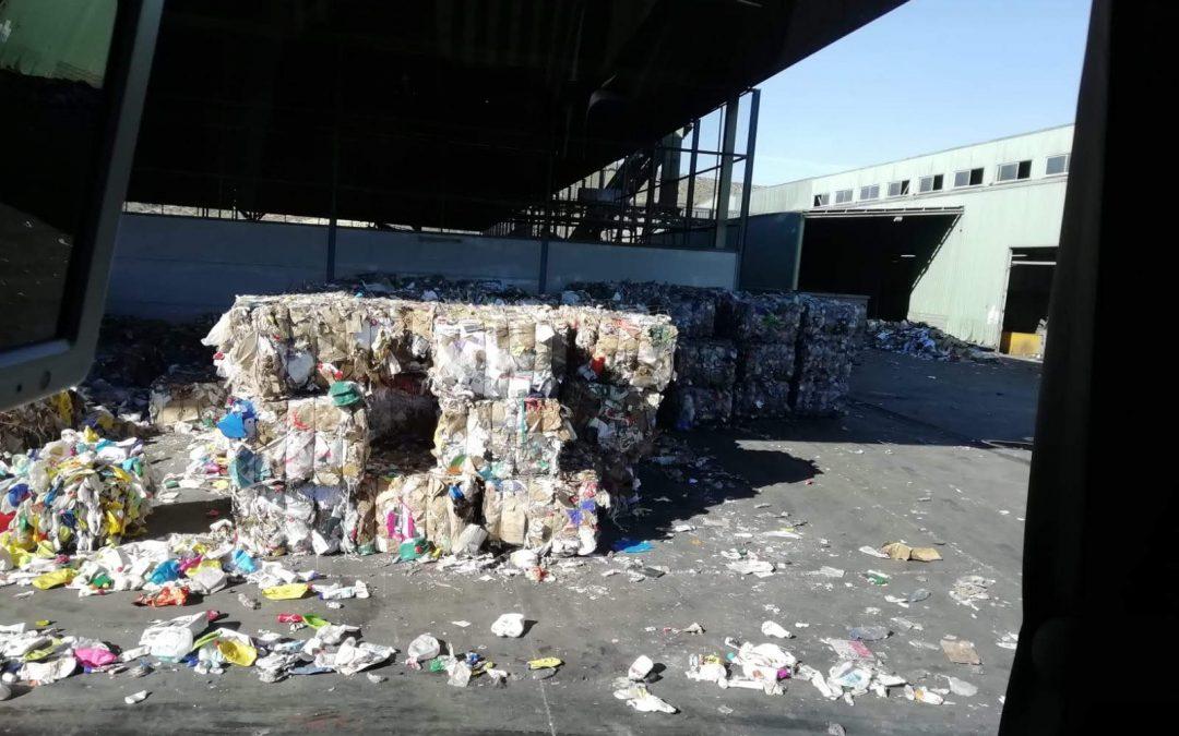 Visita a la planta de reciclaje