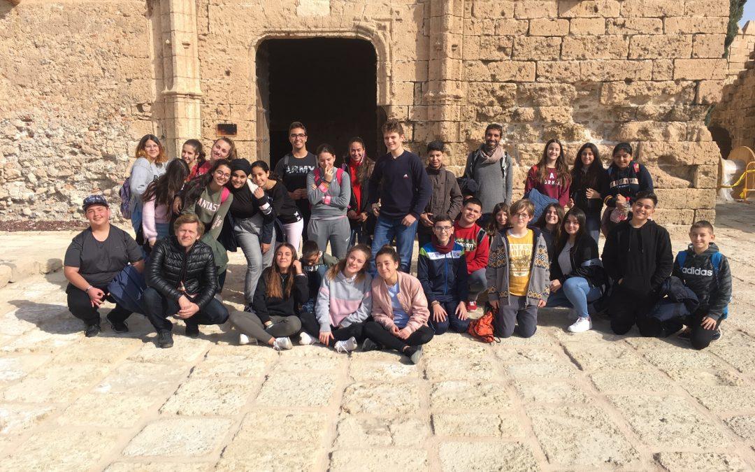 """Visita a la Alcazaba y al """"Centro de Interpretación Patrimonial"""" de Almería, por parte de Segundo de la  ESO A."""