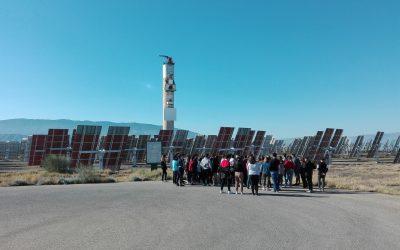 Visita Plataforma Solar de Almería (PSA) con alumnos 3º ESO