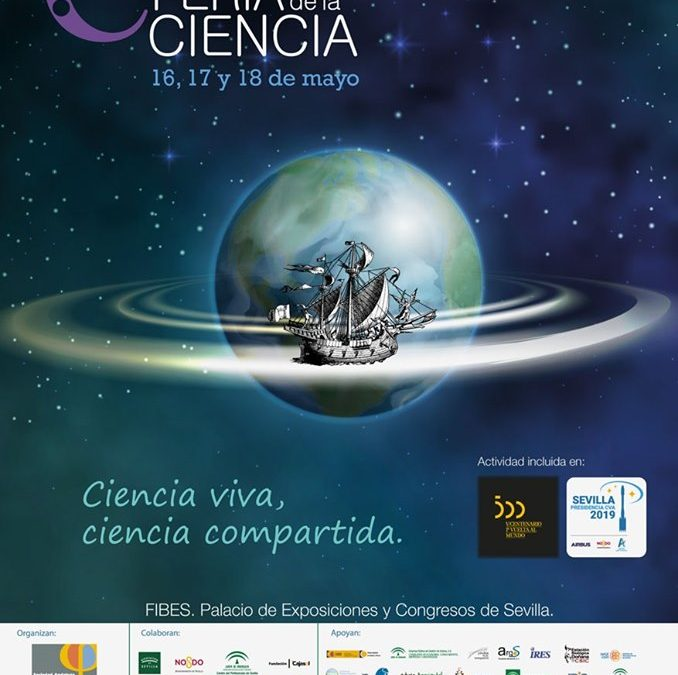 El cartel de la Feria de la Ciencia