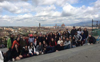 Viaje de Estudios del alumnado a Italia (2018/2019).