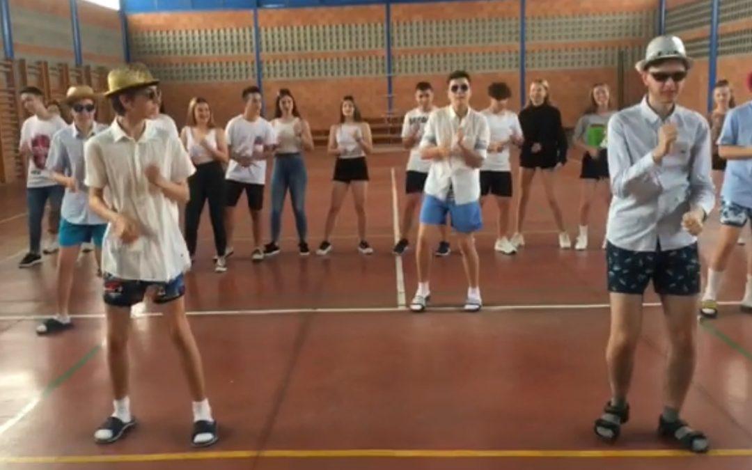 Bailes de tercero de la ESO.