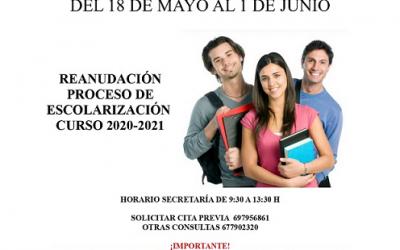 SOLICITUD DE ADMISIÓN PARA CENTROS DOCENTES