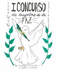 I CONCURSO TARJETAS DE LA PAZ DEL IES EL ALQUIAN